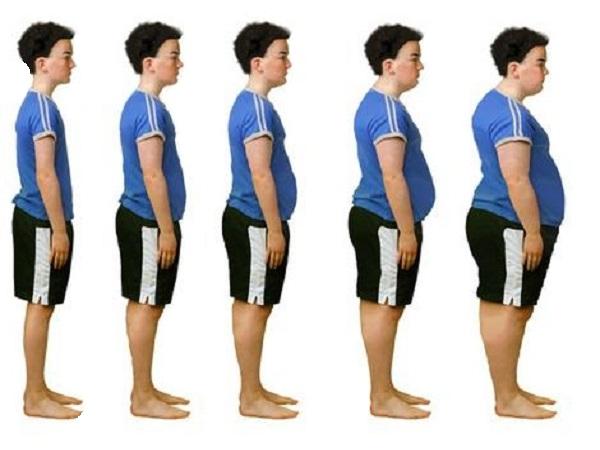در زمان افزایش وزن چه اتفاقی می افتد؟